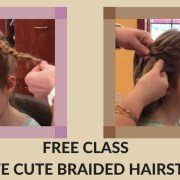 free class at hairoics - create cute braided hairstyles for little girls