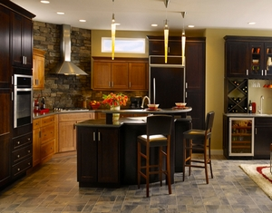 Armstrong Cabinetry; kitchen cabinets at Custom Kitchens Outer Banks