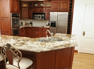 Shiloh kitchen cabinets at Custom Kitchens Outer Banks