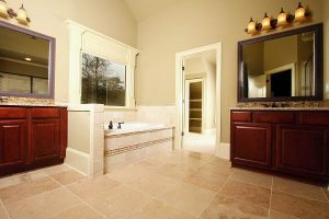 medallion cabinets Outer Banks bathroom
