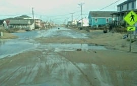 N.C. 12 flooding after March 7 storm. (Brian Morgan)