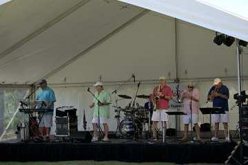 The Original Rhondels performing at Manteo's Dare Day. Photo Kip Tabb