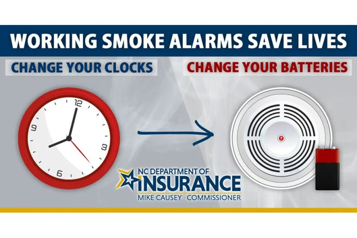 The Outer Banks Voice Reminder Fall Back Tonight Turn Your Clocks Back Replace Your Smoke Alarm Batteries