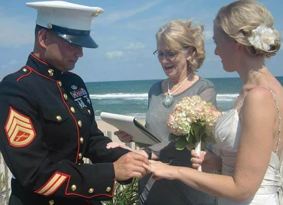 Reverend Barbara Mulford - Outer Banks Officiant