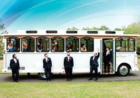 Trolley OBX Wedding Transportation
