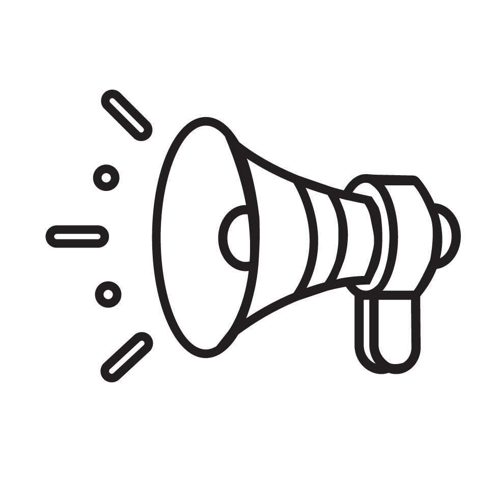 Marketing Services icon - megaphone