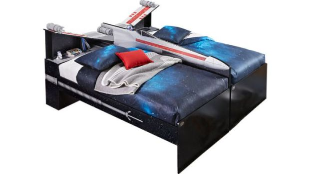 Star Wars X-Wing Double Bed