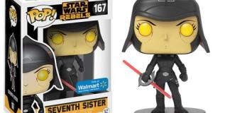 Wal-Mart Exclusive Star Wars Rebels POP Figures