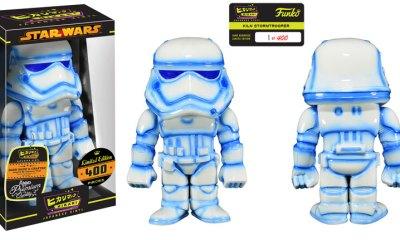 Star Wars Kiln First Order Stormtrooper Hikari Sofubi Vinyl Figure