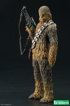 The Force Awakens Han Solo and Chewbacca ARTFX