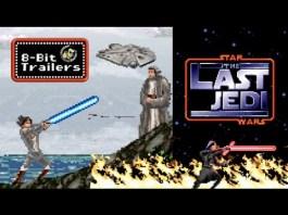 8-Bit Star Wars The Last Jedi Trailer