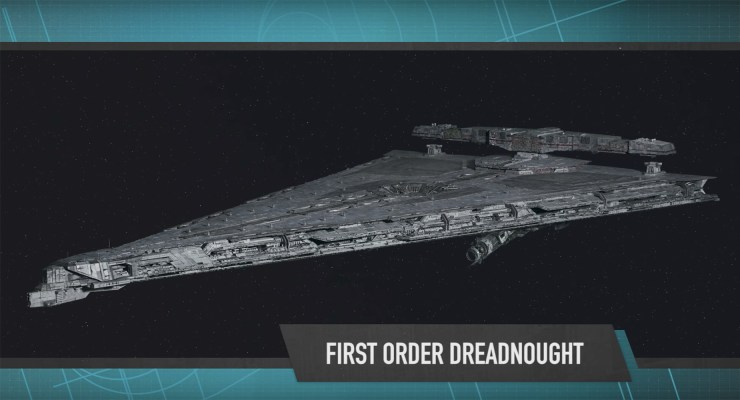First Order Vehicles