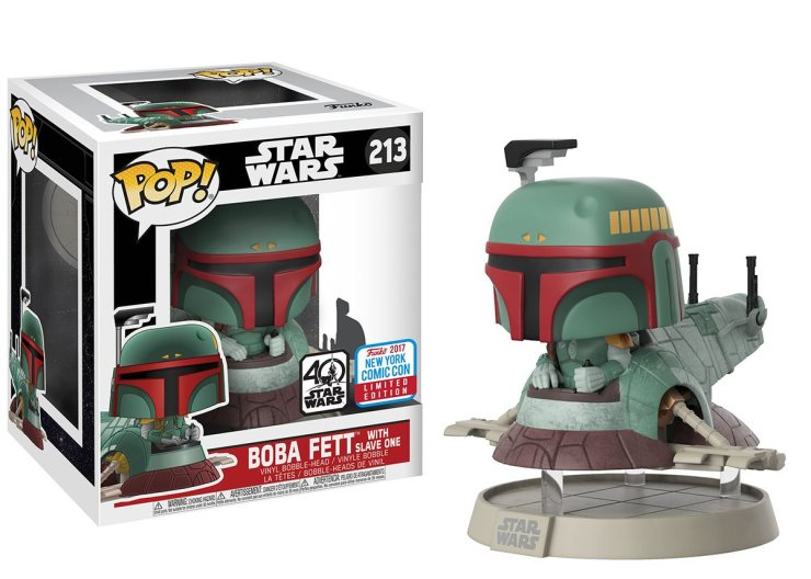 Pop! Deluxe: Star Wars – Boba Fett with Slave I