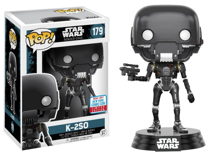 Pop! Star Wars: Rogue One – Action Pose K-2SO