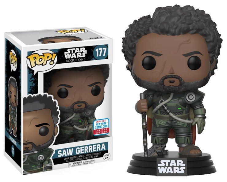 Pop! Star Wars: Rogue One – Saw Gerrera with Hair