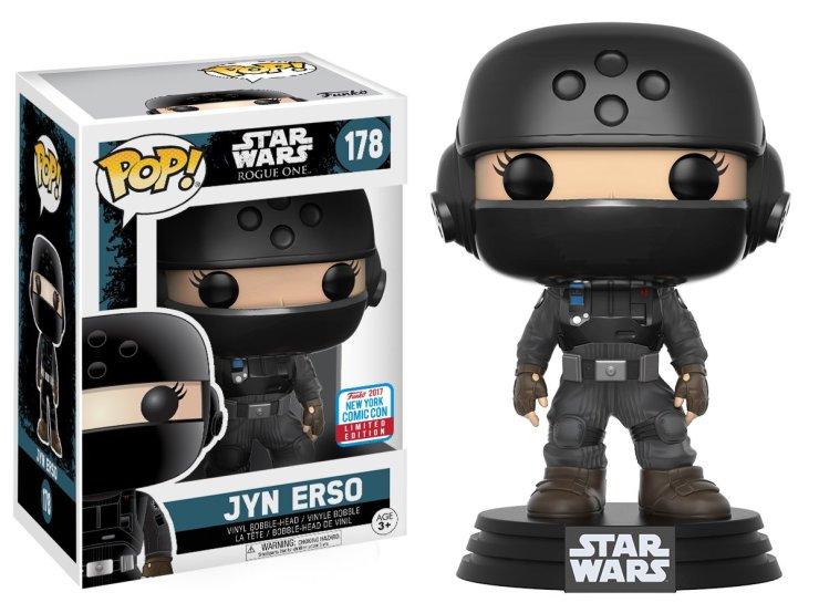 Pop! Star Wars: Rogue One – Jyn Disguise with Helmet