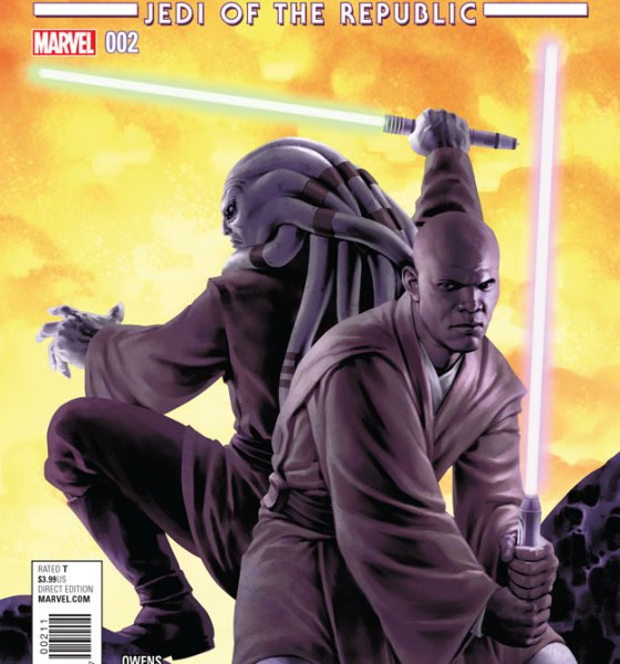 Star Wars: Jedi of the Republic: Mace Windu 2 Cover