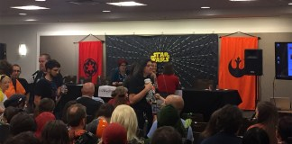 "Claudia Gray and Delilah S. Dawson at the ""Phasma"" and ""Leia"" Launch Event"