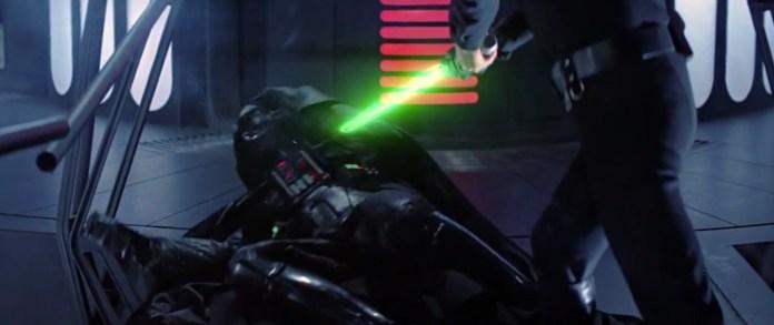 Darth Vader loses hand (Return of the Jedi)