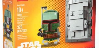 LEGO Star Wars BrickHeadz Boba Fett & Han In Carbonite