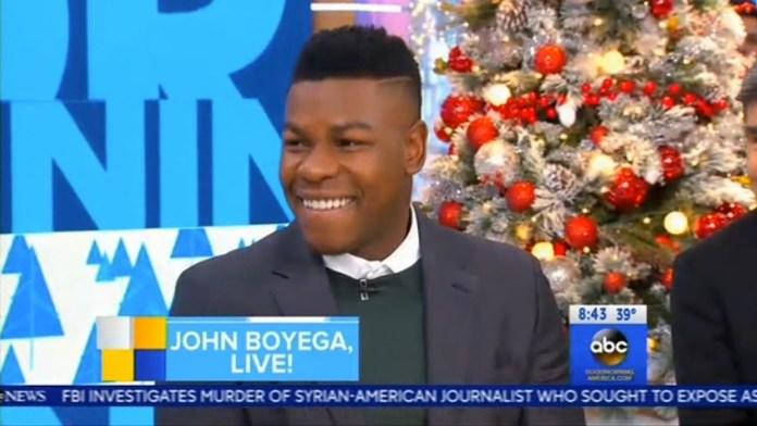 John Boyega on Good Morning America