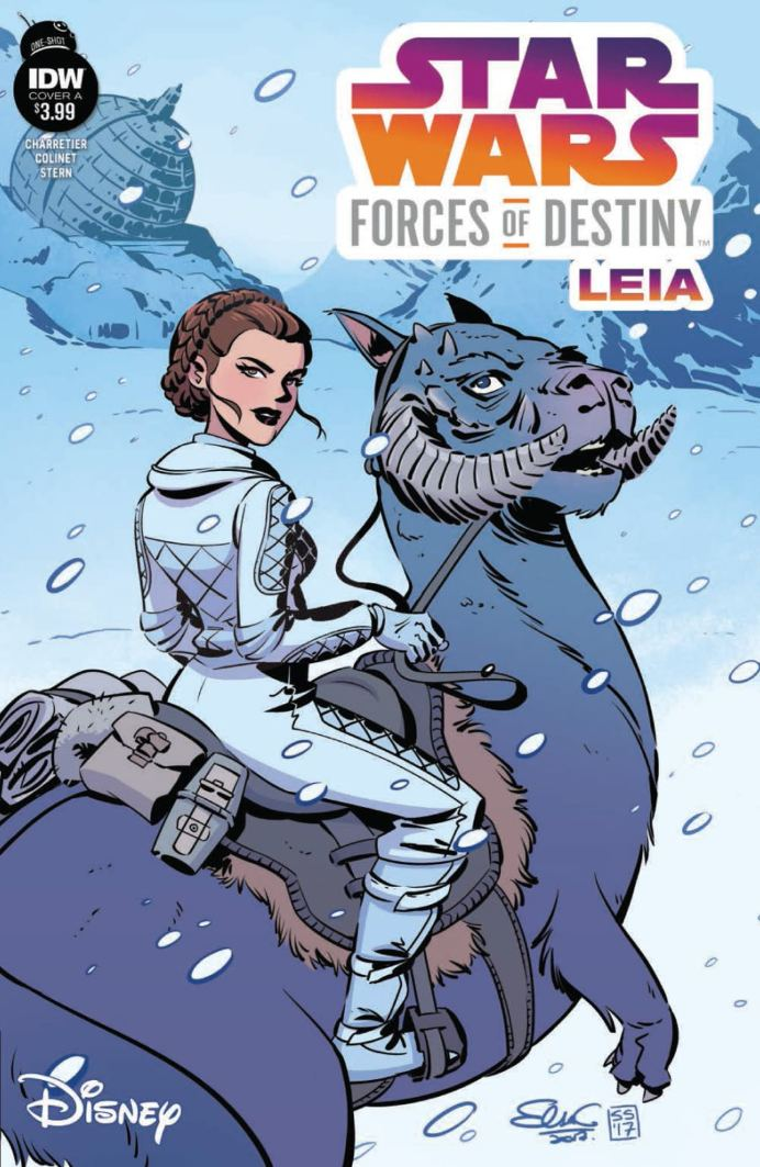 Star Wars: Forces of Destiny - Leia - Cover