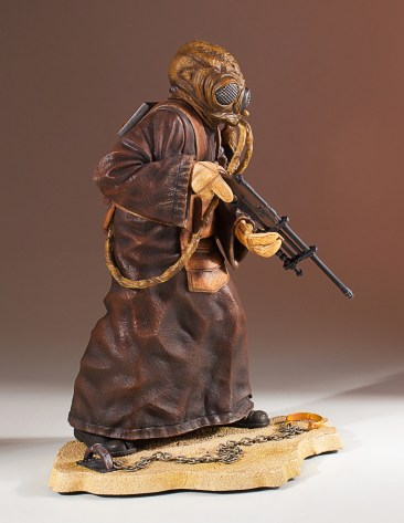 Zuckuss Collector's Gallery Statue