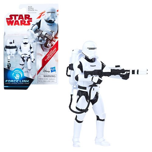 Star Wars: The Last Jedi First Order Flame Trooper (Firing Pose) 3 3/4-Inch Action Figure