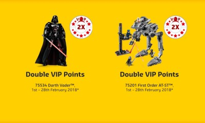LEGO VIP Star Wars Promotion