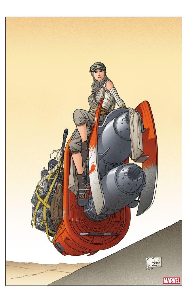 Star Wars: The Last Jedi Adaptation Joe Quesada Variant Cover