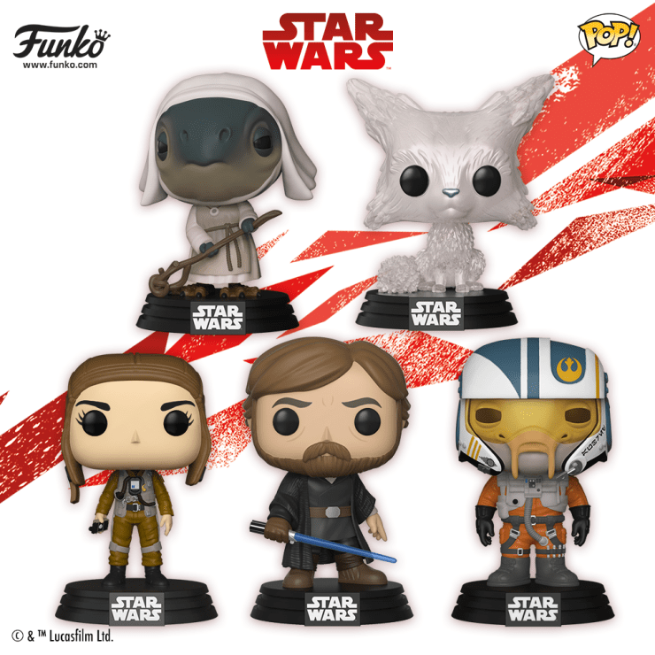 Funko Star Wars: The Last Jedi Wave 2 Pop Vinyl Figures