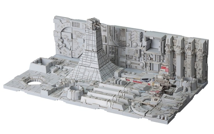 Bandai Hobby Star Wars 1/144 Death Star Attack Model Kit