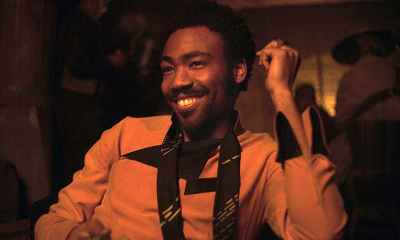 Donald Glover as Lando Calrissian in Solo: A Star Wars Story