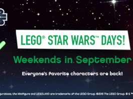 Star Wars Weekends LEGOLAND Discovery Center Atlanta