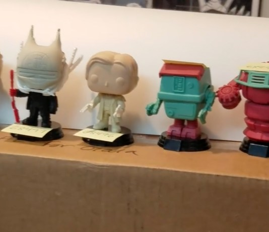 Funko Solo: A Star Wars Story Prototype Pop Vinyl Figures