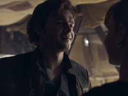 Han Solo and Qi'ra from Solo: A Star Wars Story