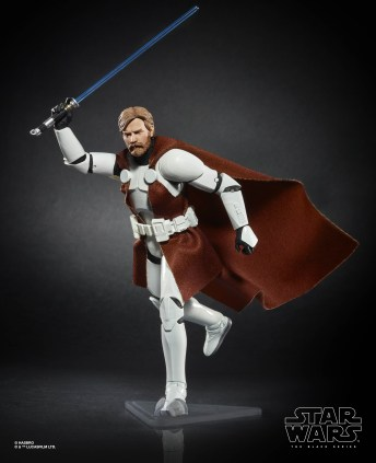 Star Wars: The Black Series 6-inch Obi-Wan Kenobi (Clone Trooper Armor) Figure