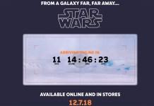 Columbia Star Wars Countdown Clock