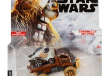 Hot Wheels Chewbacca and Porg