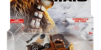 Hot Wheels Chewbacca and Porg
