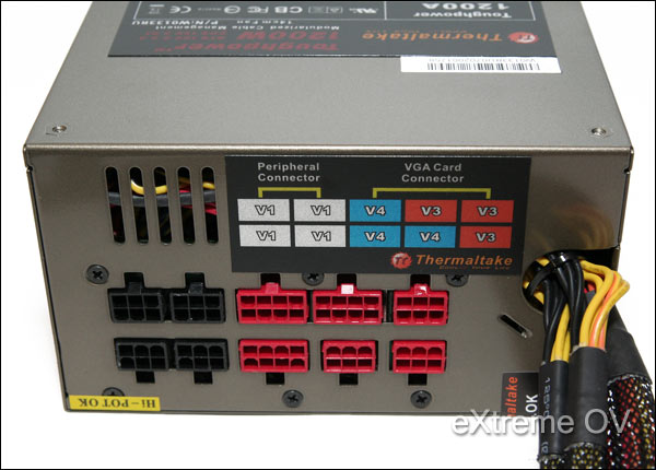 Thermaltake Toughpower CableManagement 1200W Power Supply