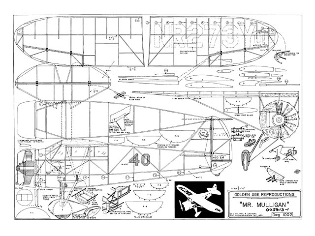 Outerzone : Free plans : Collection of free vintage model