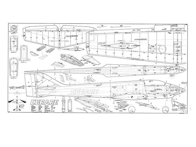 Hobby RC Model Plans, Templates & Manuals Vintage MK
