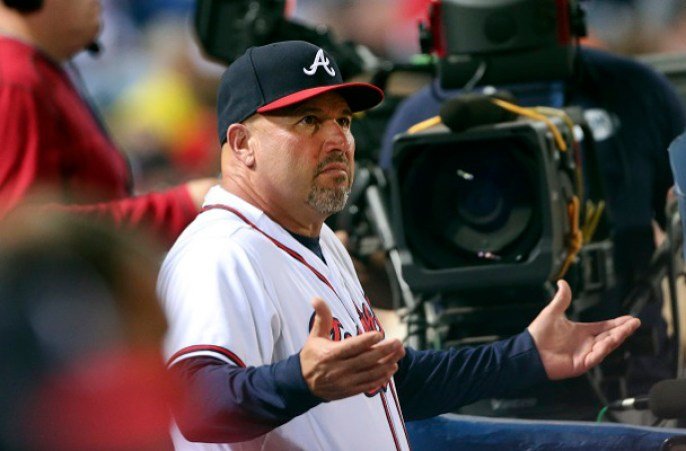 Atlanta Braves Manager Fredi Gonzalez