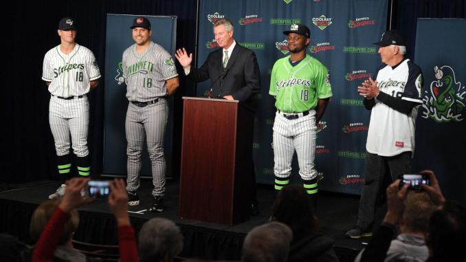 a2dce57a Team Review 2018: Gwinnett Stripers - Outfield Fly Rule