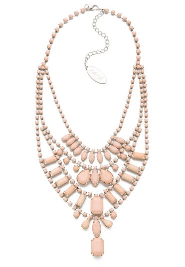 Adia Kibur - Multi Layer Pastel Necklace Price $85.00