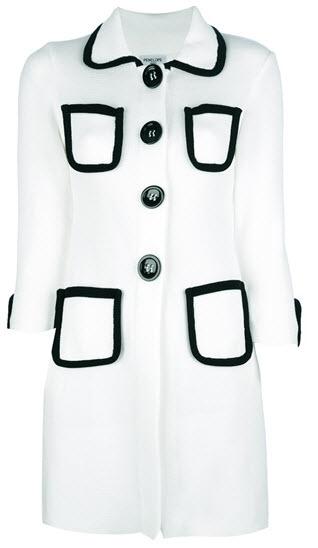 CHARLOTT two-tone coat £715