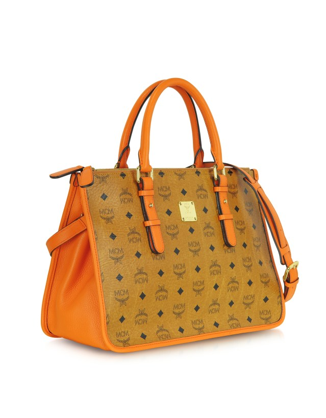 MCM - Vintage Visetos Medium Signature Tote $870.00