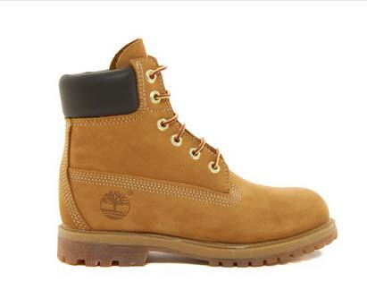 Timberland 6 Premium Lace Up Flat Boots
