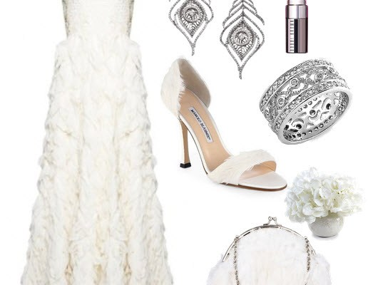 The Feather Bride – in the perfect Outfit